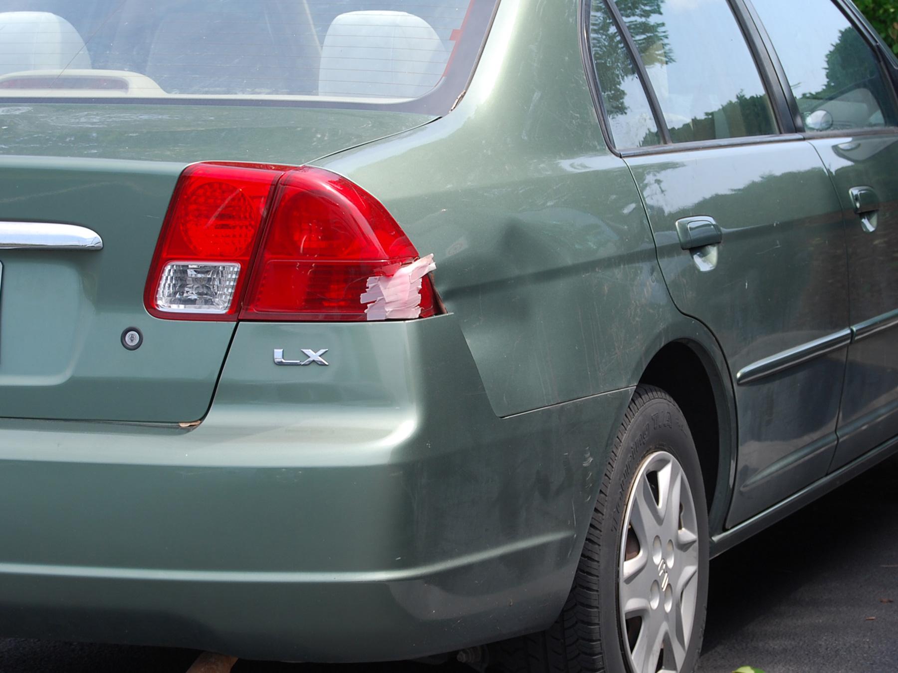 Cost To Repair Large Dent In Car Door